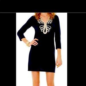 Lilly Pulitzer NEW STUNNING Black dress XL